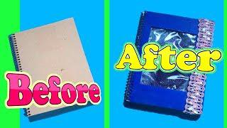 DIY NOTEBOOK IDEAS for Back To School   School Supplies   How To by devlin fox