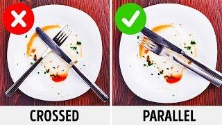 13 Etiquette Mistakes You Should Avoid / BRIGHT SIDE