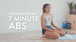 7 MINUTE AB WORKOUT | Full Sequence - Real Time | Shona Vertue