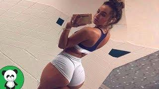 Amazing Motivation have a nice day Sexy Girls Do Workout Sexy Training 2018 peekaboo show #4