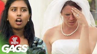 Bride Gets Her Wedding Photos Absolutely Ruined  Розыгрыш