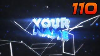 TOP 50 Blender Intro Template #110 + Free Download