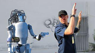 Bosstown Dynamics: New Robot Can Fight Back!