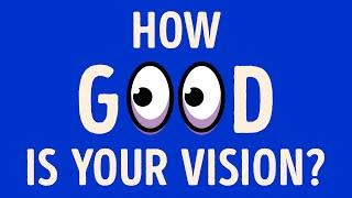 A Quick Test to Check Your Vision