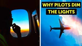 Why Planes Turn Off the Lights During Landing